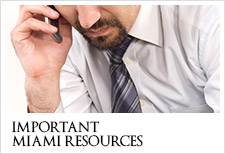 Important Miami Dade Resources area links